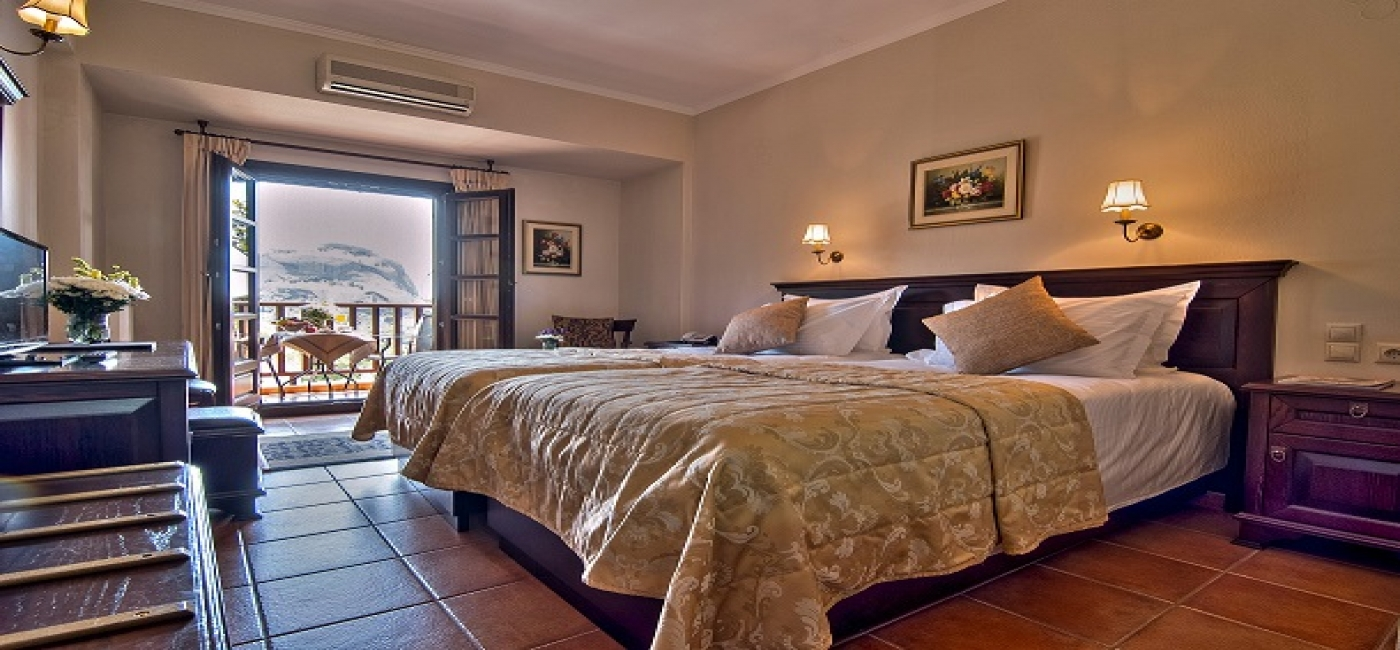 Double room (Meteora panoramic view)